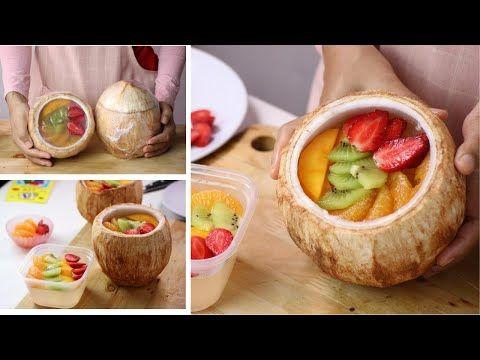 Laris 100 Porsi Perhari Resep Ide Usaha Dessert Coconut Jelly Fruit Puding Kelapa Buah Youtube Puding Makanan Resep