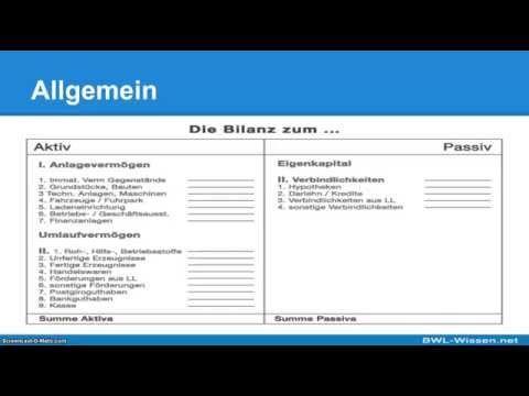 Bilanz Definition Zusammenfassung Finanzbuchhaltung Buchhaltung Zusammenfassung