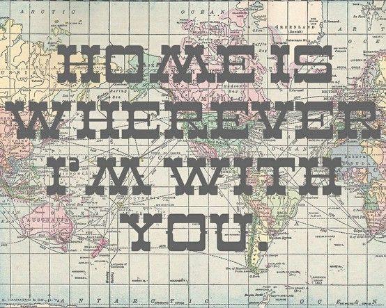 maps and lyrics.