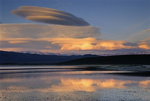 Lenticular cloud. (Unable to find photographer info)