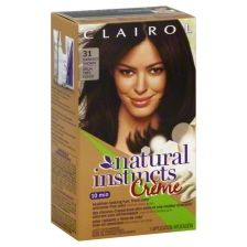 Clairol Natural Instincts Rich Color Creme Non-Permanent Color Rich Darkest Brown 31