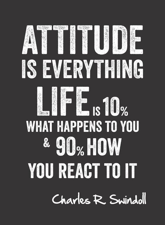 New Positive Attitude Status Attitude Is Everything