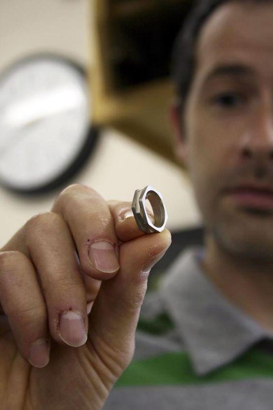 A unique wedding ring!