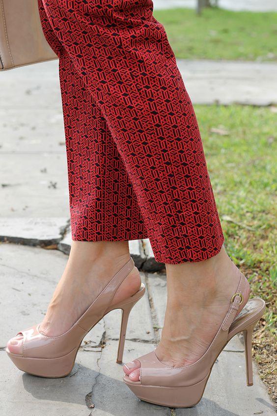 Divina Ejecutiva: Mis Looks - Combinando Rojo y Rosado #divinaejecutiva #officeattire #workinglook #workinggirl #ootd #pants #lasmorzan #redpants #summer