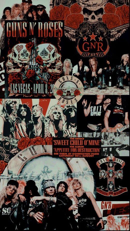 Guns N Roses Wallpaper Guns N Roses Rock Band Posters Rock N Roll Art