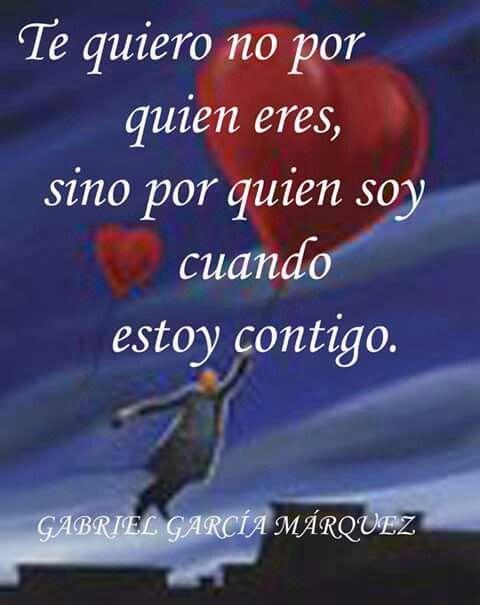 Te quiero. ..
