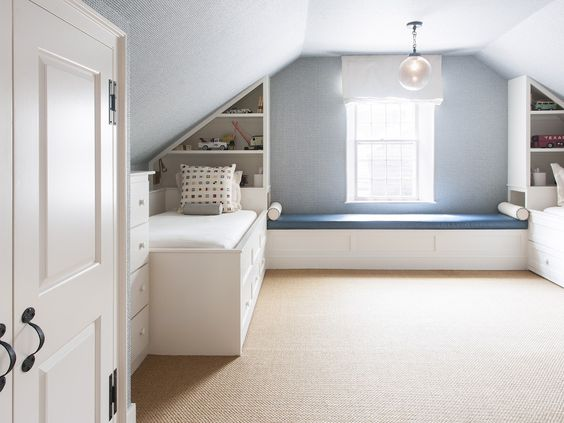 Nantucket Town house rental - Third Floor Bunk Room (sleeps 4)