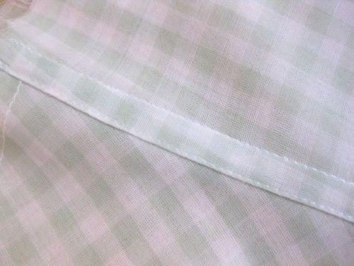 Flat-felled-seam- for finishing armholes