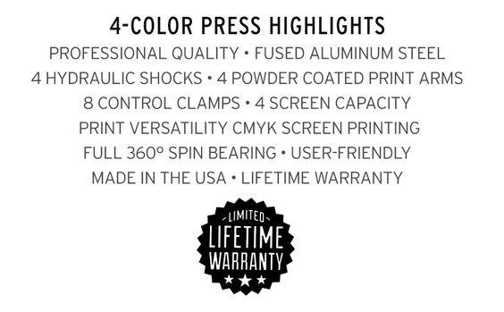 Print Shop Press: DIY 4-Color Screen Printing