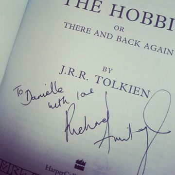 yes, I pinned this to my fiction bucket list. I would LOVE to get my Hobbit book autographed by RICHARD ARMITAGE!