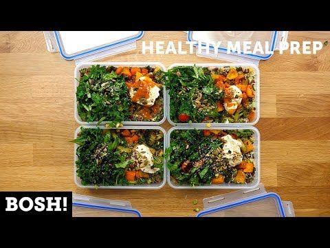 Quick Easy Healthy Meal Prep Bosh Vegan Youtube Vegan Recipes Healthy Healthy Meal Prep Vegan Meal Prep