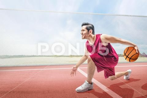 Handsome Asian Basketball Player Man Playing Basketball Stock Photos Ad Basketball Player Handsome Asian Basketball Players Man Players
