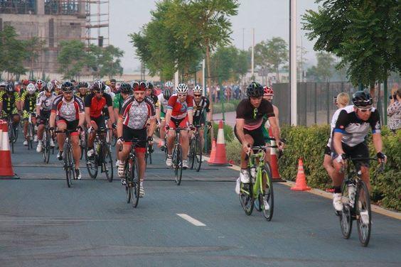 Matthew Anthony at Spinneys Dubai 92 Build up Ride 1, 2016