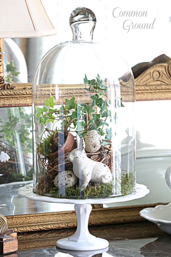 Tips for Creating an Easter Vignette | awonderfulthought.com: