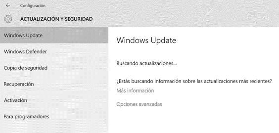 Guía rápida de Windows Update