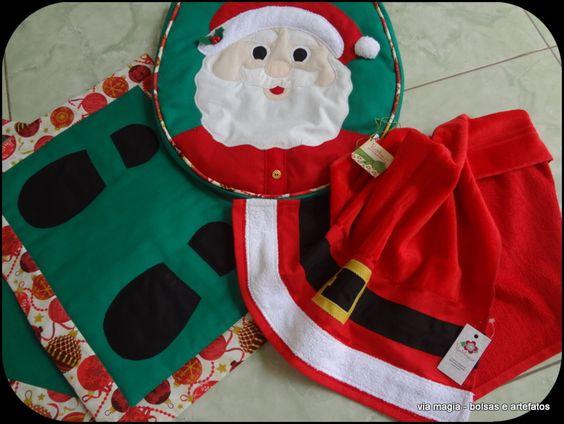 Conjunto de banheiro para Natal