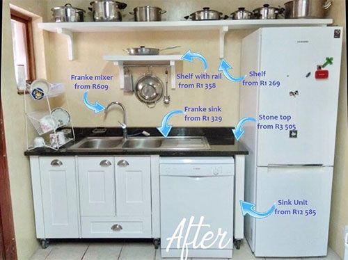 Your Kitchen Doesn T Have To Be Built In Or Stuck To The Walls Where It Can T Be Cleaned As Effectively And Easily Or Ta Kitchen Sink Units Sink Units Kitchen