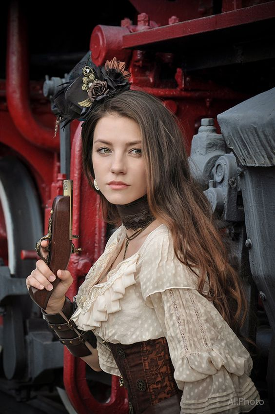 #steampunk #girl #photo #fashion #costumes #photo #fashion #costumes #gothic…