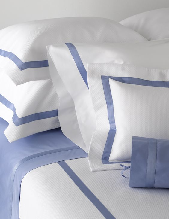 Mayfair Luxury Bed Linens-Custom Bedding by Matouk #LuxuryLinens