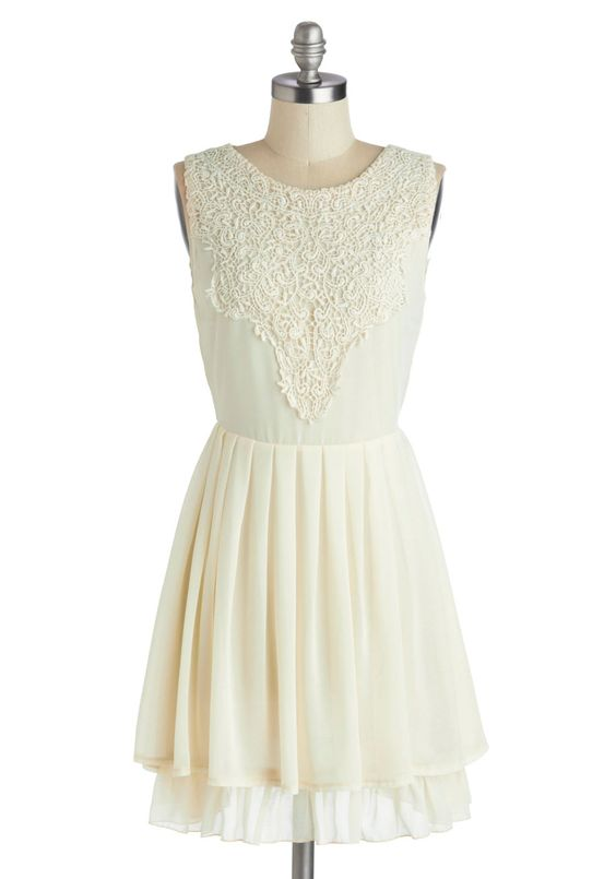 Candle Lighting Dress, #ModCloth