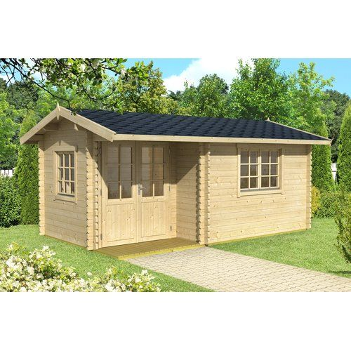 Splendid Concepts To Make Your Beautiful Log Cabin Home In The Mountains Or Next To A Lake A Peaceful Environment T Corner Summer House Summer House Log Cabin