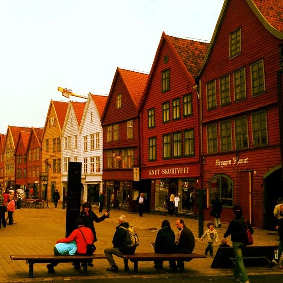 The Hanseatic Wharf in Bergen. Photo: B.Gran/www.visitnorway.us