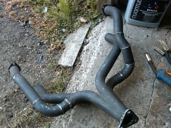"""For Sale Type 3 Merged Header (1 5/8"""") and """"Kafer cup"""" style Frame Horn brace…"""