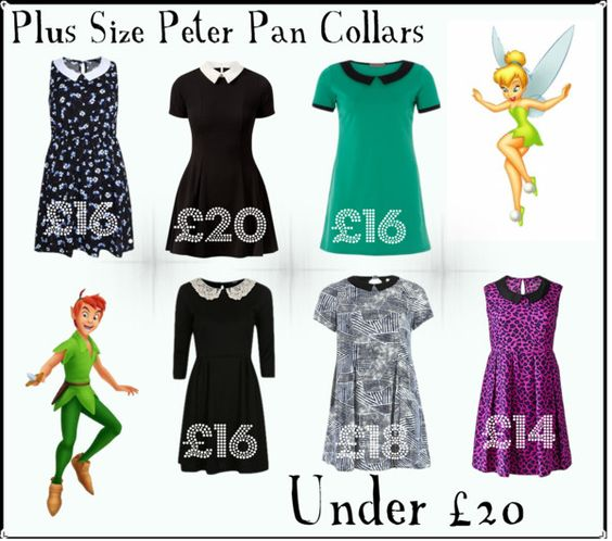 plus size peter pan collars