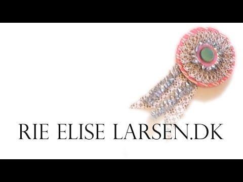 ▶ Rie Elise Larsen: Papir roset / medalje - YouTube
