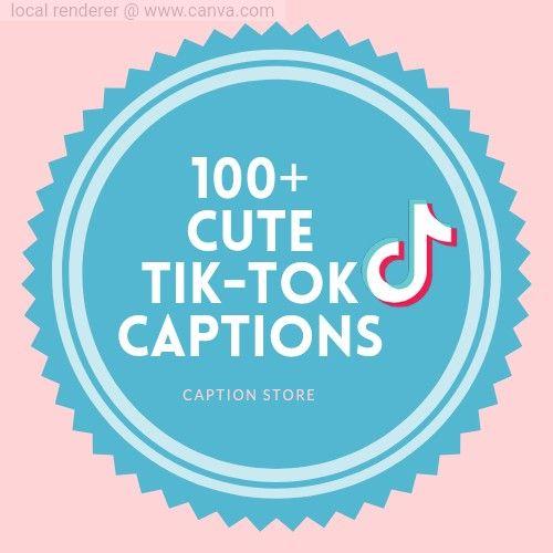 Tiktok Caption Ideas 2021 Cute Funny Popular Tiktok Caption Ideas Good Instagram Bio Quotes Instagram Bio Quotes Caption Quotes