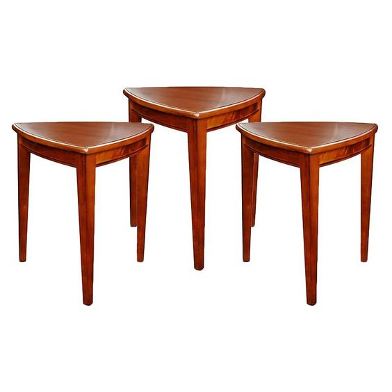 Leick Furniture Shield End Table 3-piece Set, Other Clrs