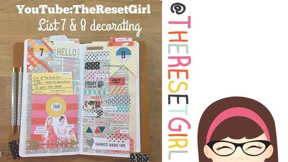 Title: #ListersGottaList – April Challenge Decorating List 7 & 8