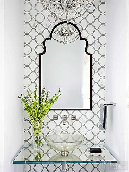 Shelves Powder And Small Powder Rooms On Pinterest