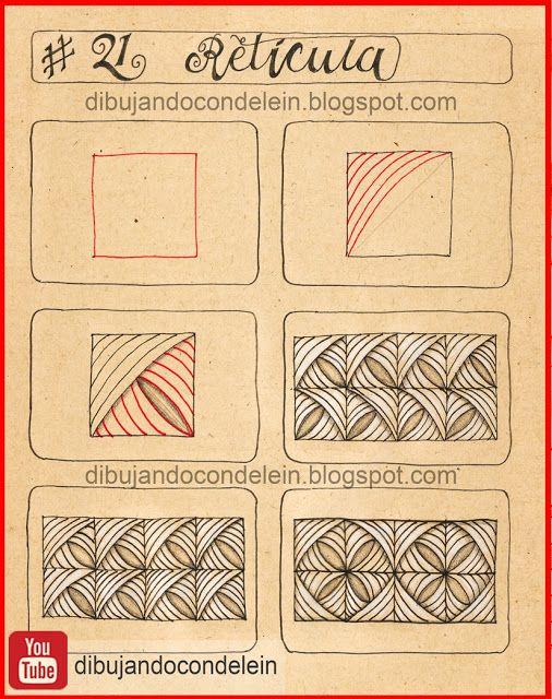 Como Dibujar Zentangle Art Paso A Paso Estampados Zentangle Diseños De Zentangle Dibujos Zentangle
