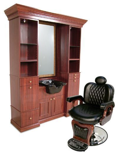 Barber chair / shampoo sink setup http://www.hairstylersfriend.com/images/products/detail/products_8799060.jpg: