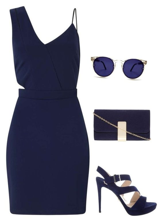 """Sans titre #3588"" by noonewilleverknow ❤ liked on Polyvore featuring Miss Selfridge, Prada, Dorothy Perkins and Spitfire"