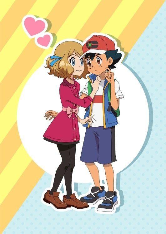 Ash X Serena Love Pokemon Personajes Cómics De Pokemon Imagenes De Pokemon Pikachu