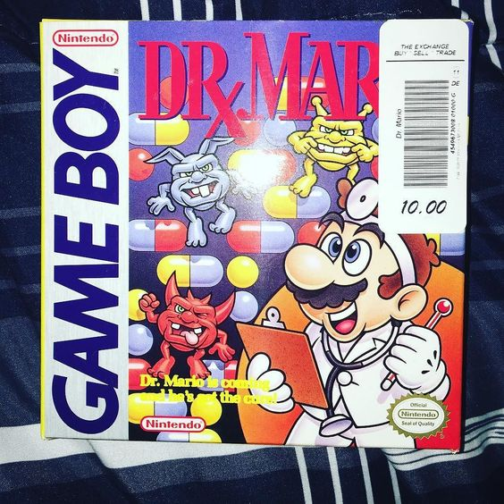 On instagram by dcgaming55 #gameboy #microhobbit (o) http://ift.tt/2dpC0CM't believe I picked this up almost complete for $10.  Just need plastic game holder #drmario #nintendo  #gamecollector #retrogame #RetroGaming #retrocollection #RetroGaming #videogames #mario