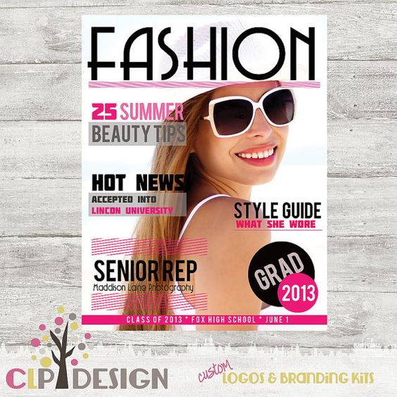 magazine covers fashion templates magazine cover template photoshop