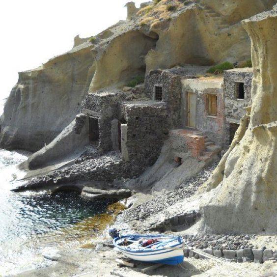 Pollara - Isola di Salina (Eolie) #catania #sicilia #sicily--ITALIA  by…