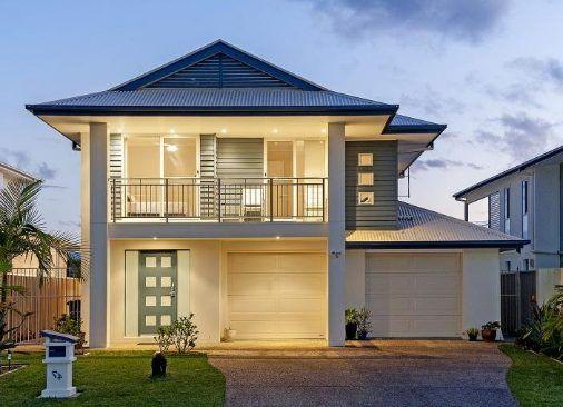Fachadas de casas bonitas de un piso inspiraci n de - Interiores de casas modernas ...