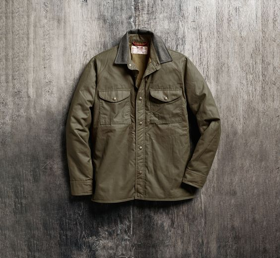 www.Filson.com | Insulated Jac-Shirt | For the Outdoorsman or