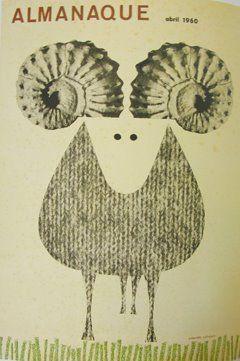 """Sebastiao Rodrigues - """"Almanaque"""" - 1960"""