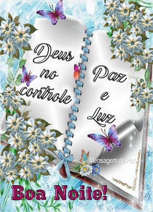 Deus No Controle Com Imagens Mensagem De Boa Noite Oracao De