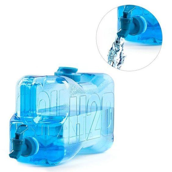 DISPENSADOR AGUA H2O TRANSPARENTE AZUL, PRECIO MAS BAJO EBAY, ENVIO SEUR