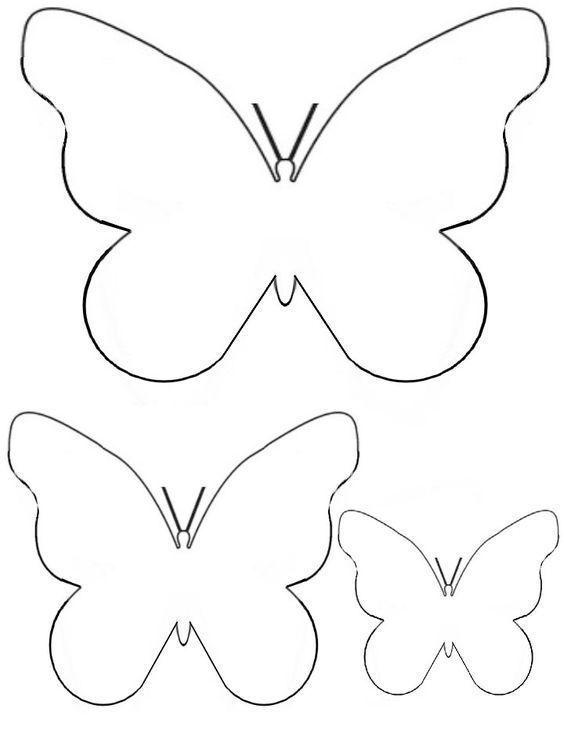 Diese Schmetterling Bastelvorlage Und Weitere Kostenlose Bastelvorlagen Zum Ausdruck In 2020 Bastelvorlagen Zum Ausdrucken Papierschmetterlinge Schablone Schmetterling