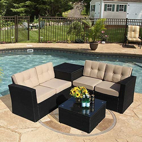 Outdoor Patio Furniture Sets, Black Wicker Outdoor Furniture Sets