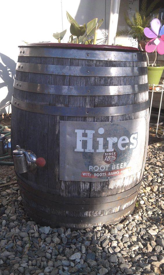 Vintage beer keg süsse transe