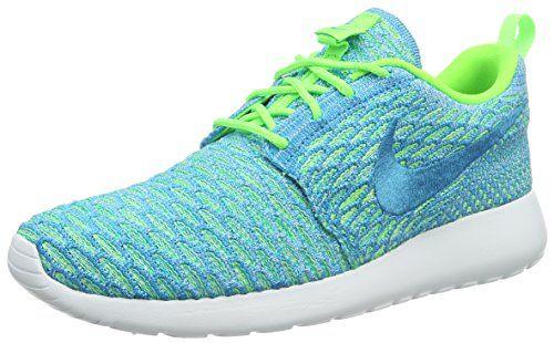 €51,98 in Gr. 36.5 / 38.5 * Nike Damen Roshe One Flyknit Sneakers, Türkis