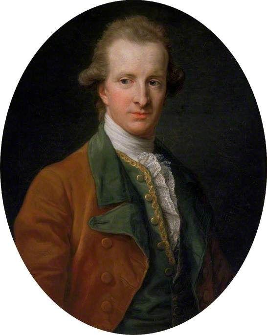 Portrait of Henry Swinburne (1743–1803), 1779 by Pompeo Batoni (Italian 1708–1787)